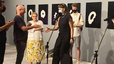 Марта Джурина е носител на престижната награда за съвременен артист БАЗА 2021