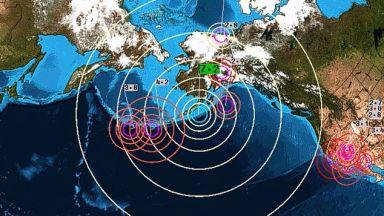 Трус от 8,2 по Рихтер край бреговете на Аляска, предупредиха за цунами (видео)