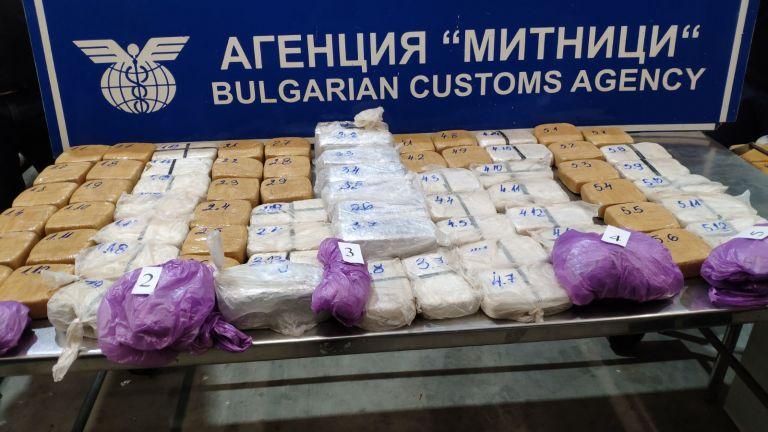 """Хванаха пратка с хероин за над 4 млн. лева на ГКПП """"Дунав мост-Русе"""""""