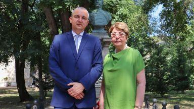 Портних посрещна Митрофанова във Варна, говориха за балет и българо-руско сътрудничество