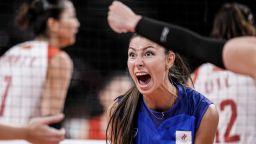 Олимпийските шампионки във волейбола допуснаха трета поредна загуба