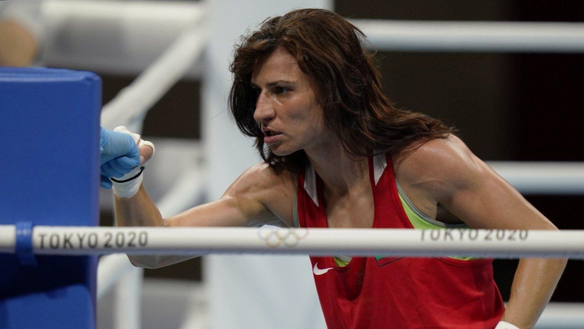 Стойка Кръстева е на крачка от медал след супер победа над американка
