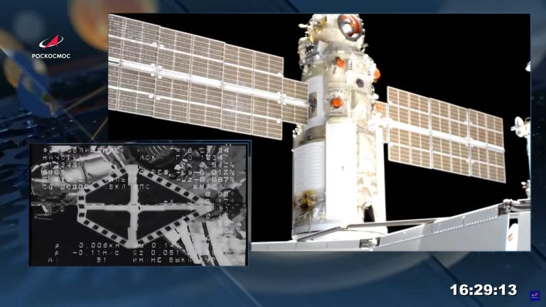 """Руските космонавти започват работа с новия научен модул """"Наука"""""""