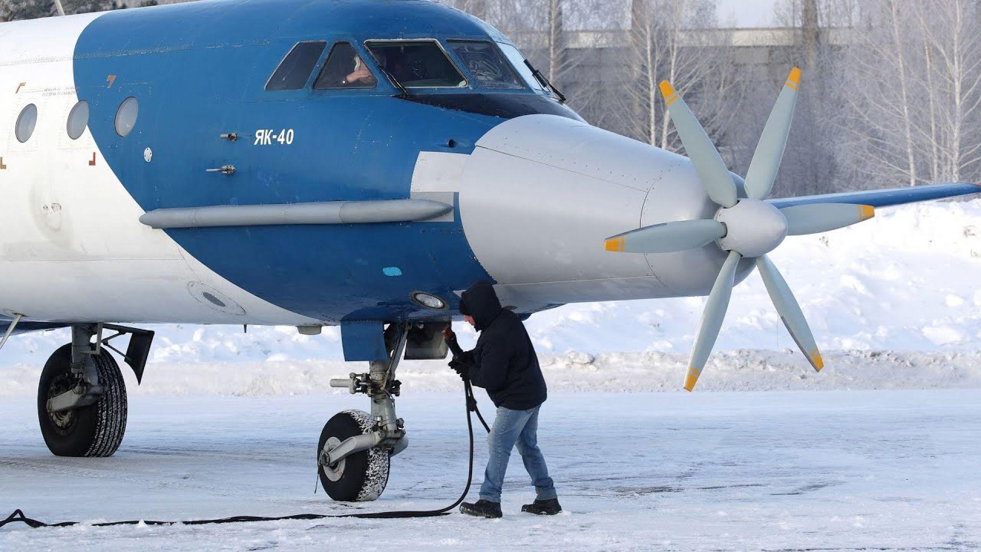 Русия превърна стар съветски самолет в хибрид