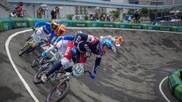 Тежки падания белязаха финалите на BMX в Токио