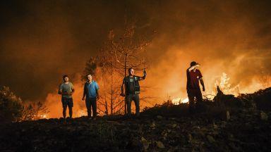 Пожар в Хасковско е обхванал 2 хил. декара гори