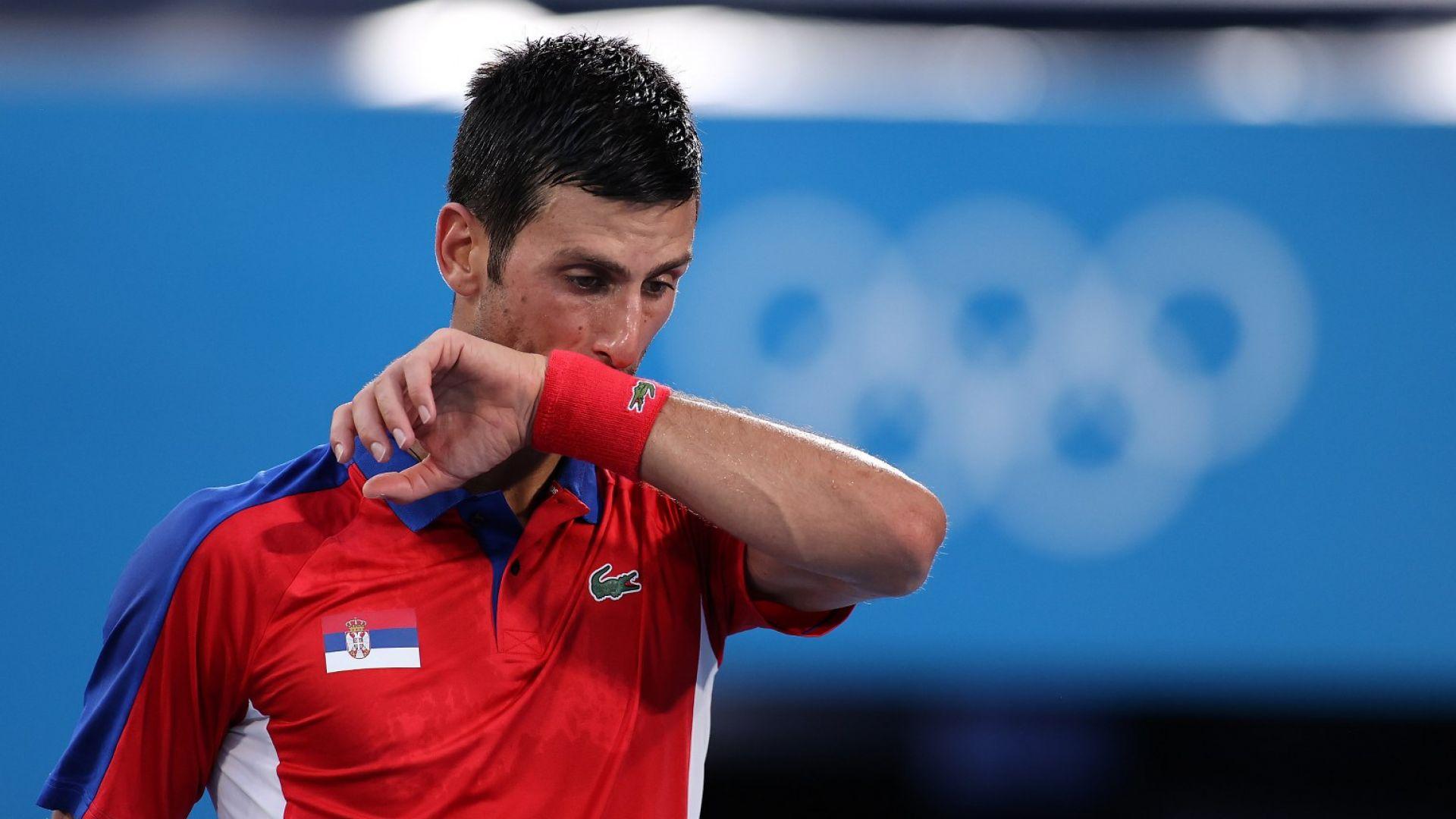 Джокович си взима повече почивка след разочарованието на Олимпиадата