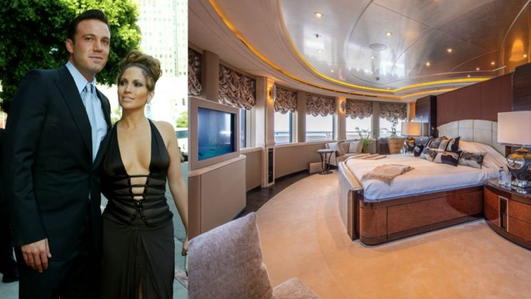 Вижте изумителната яхта, за която Джей Ло и Бен Афлек плащат над $1 млн. на седмица