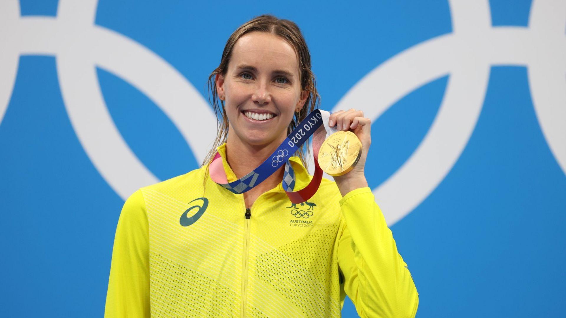 Австралийка влезе в историята със седми медал в Япония