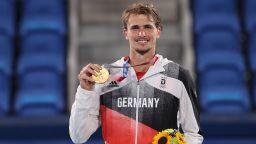 Саша Зверев стъпи на олимпийския връх в тениса