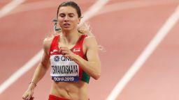 Уплашената от репресии атлетка на Беларус получи помощ от Полша