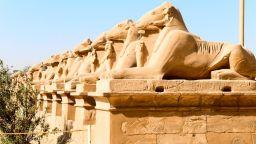 """Откриването на Алеята на сфинксовете ще надмине """"Златния парад на фараоните"""""""