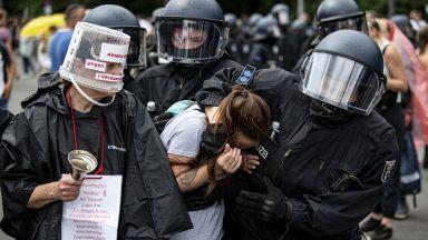 В Берлин забраниха нови протести на коронаскептиците