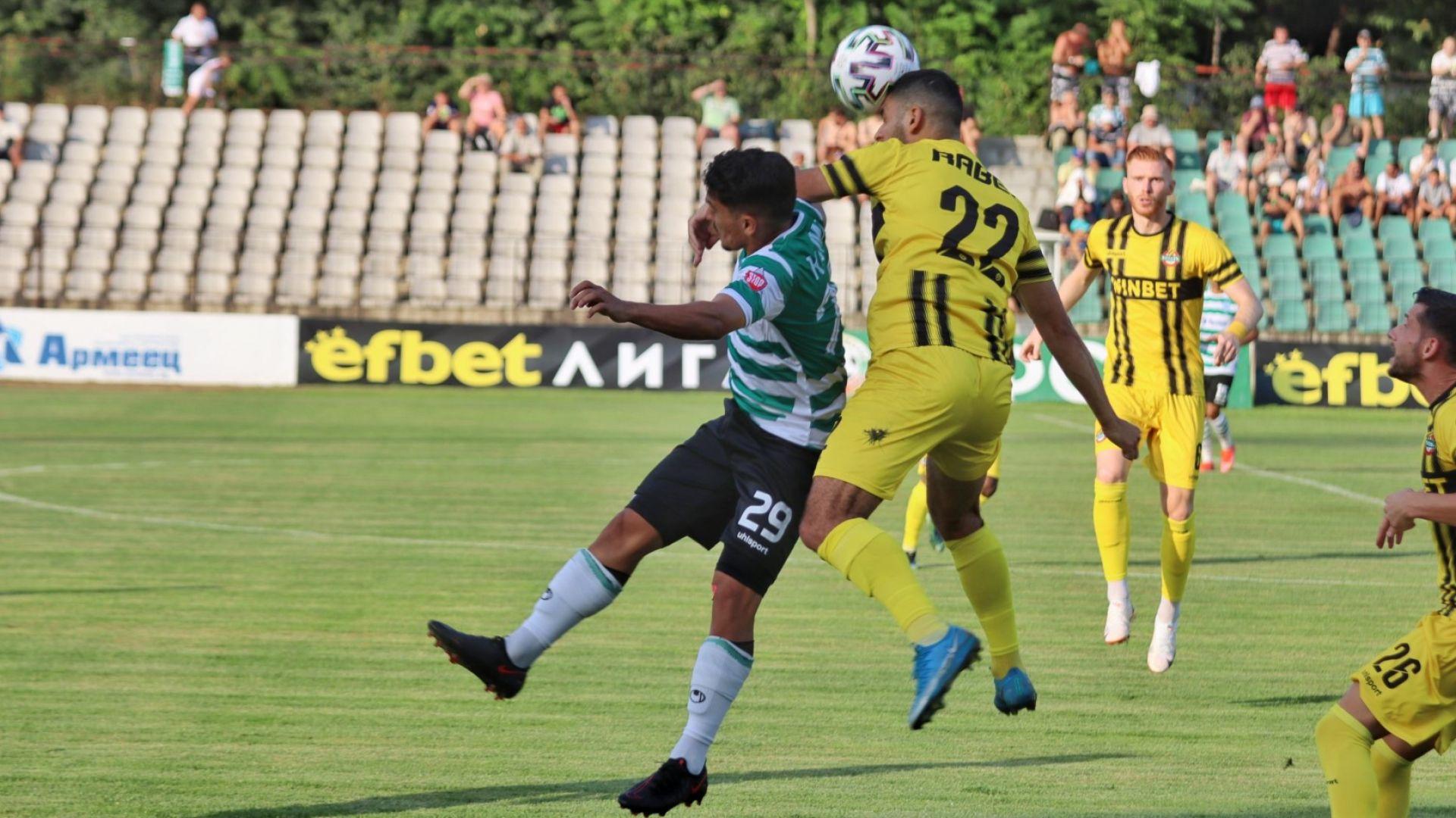 Черно море надигра слаб Ботев (Пд) и взе първа победа за сезона