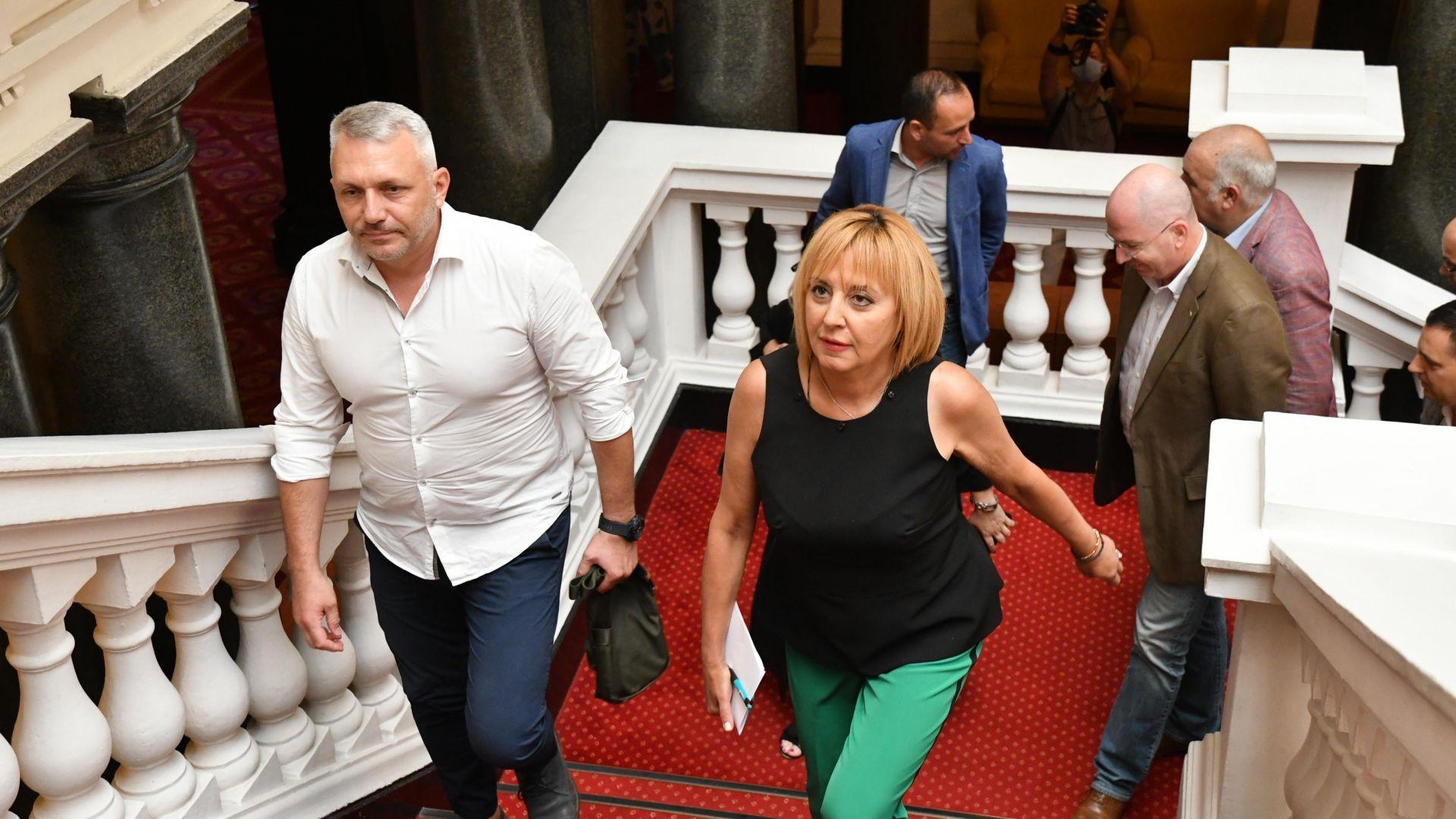 ИТН представи кабинета си на ИБГНИ на кратка среща в парламента