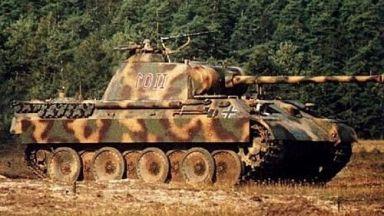 Глобиха германец за притежаване на танк и оръжия от Втората световна война