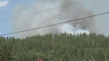 Пожар застрашава български къщи в Босилеград, сръбските власти не пращат огнеборци
