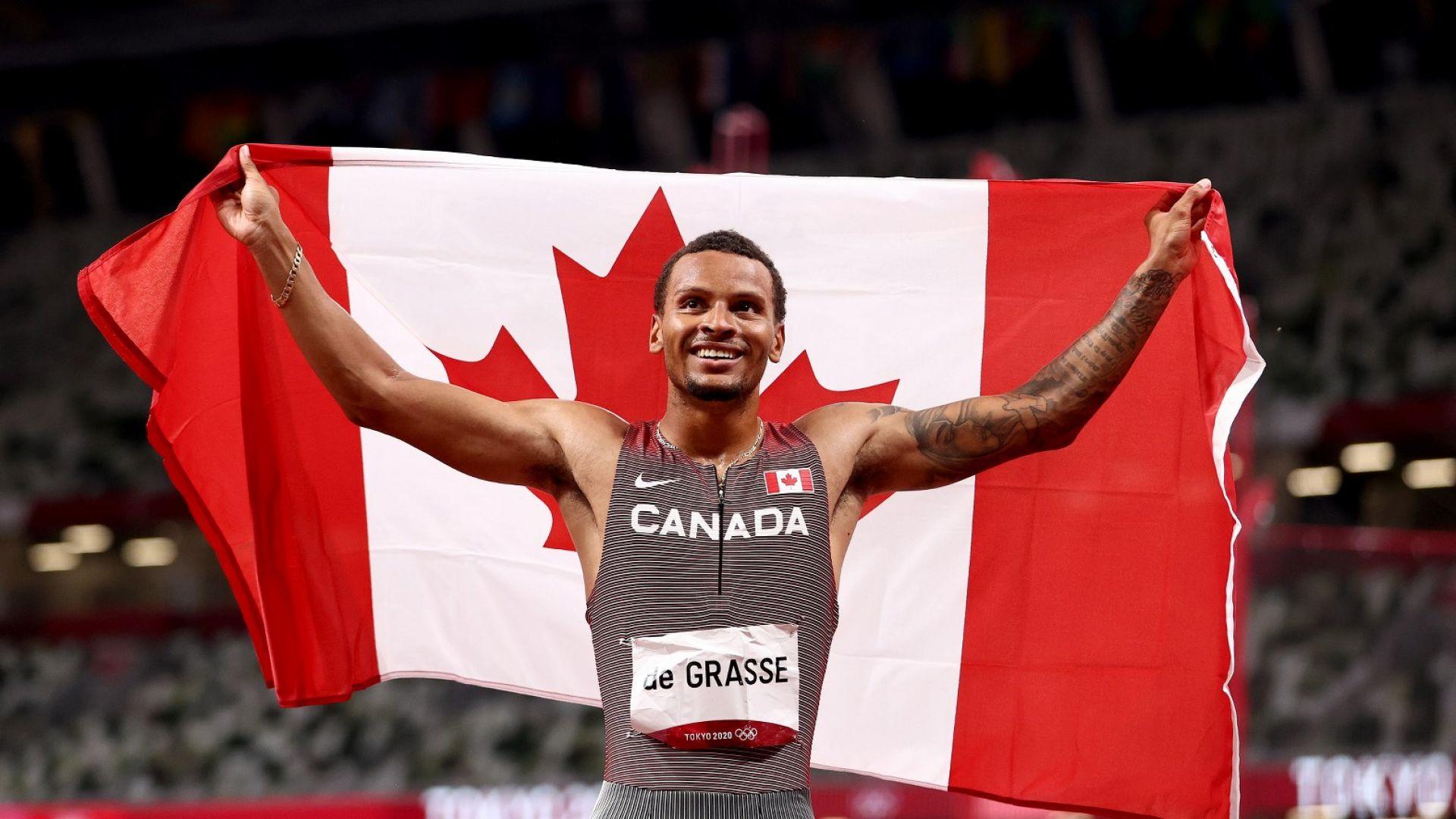 Канадец е новият крал на 200 метра и наследник на Болт