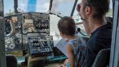 Авиомузей Бургас: Влязох, пилотирах, играх