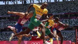 Инфарктен финал лиши големия фаворит на САЩ от титла на 110 метра с препятствия