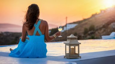 Най-красивите залези в Гърция (снимки)