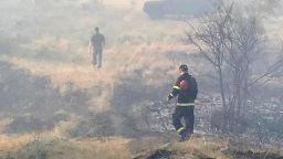 Обявиха частично бедствено положение във Велинград заради пожарите