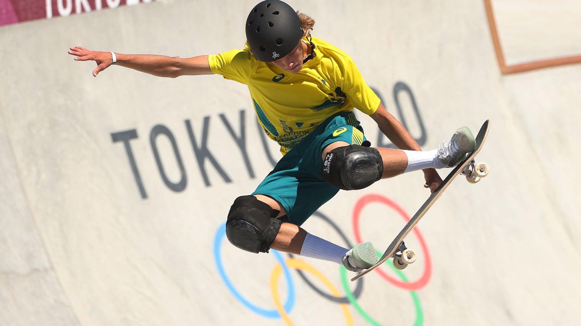 Австралийски тийнейджър взе дебютно злато в скейтборда
