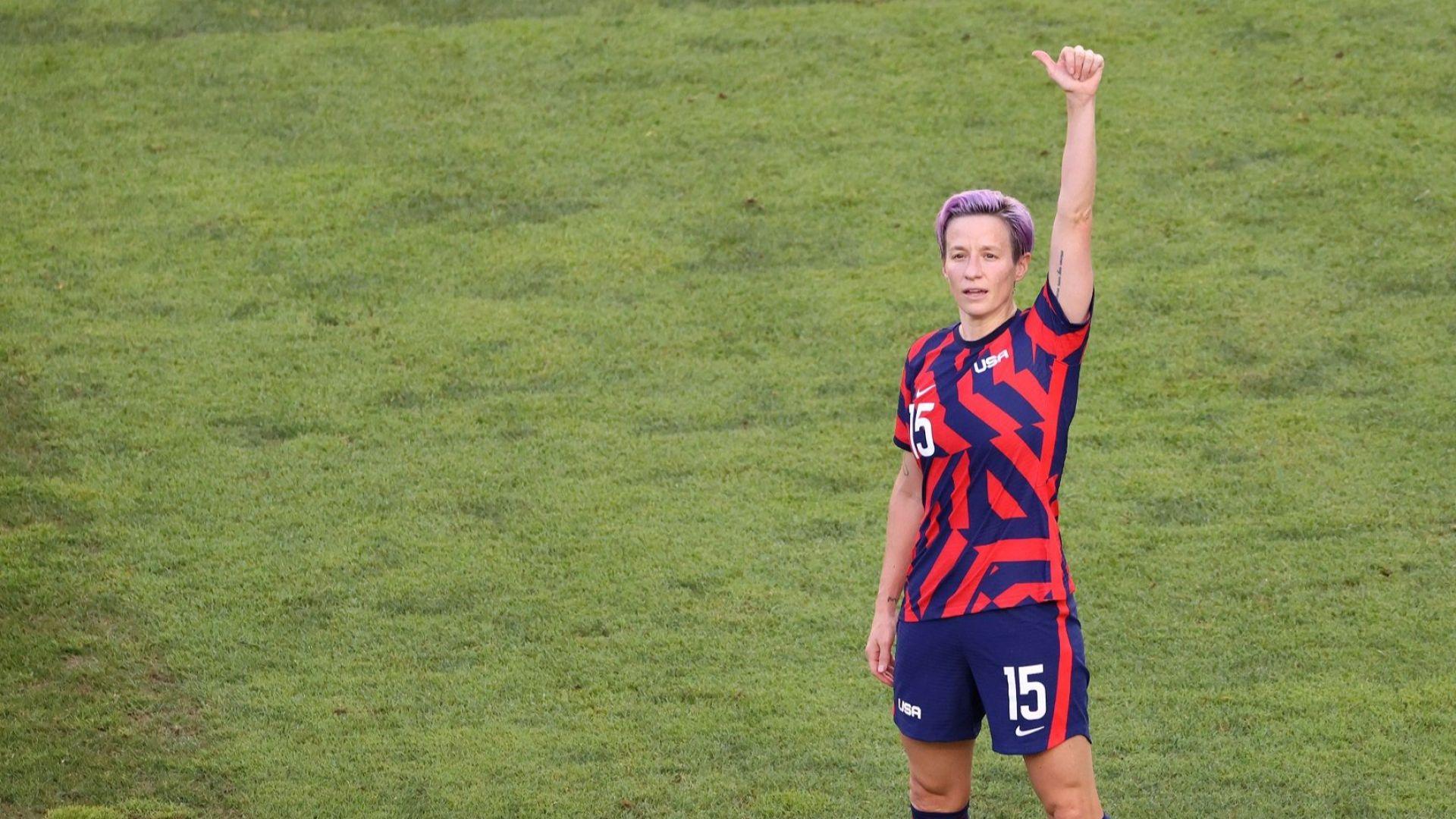 Меган Рапино поведе САЩ към бронза в женския футбол