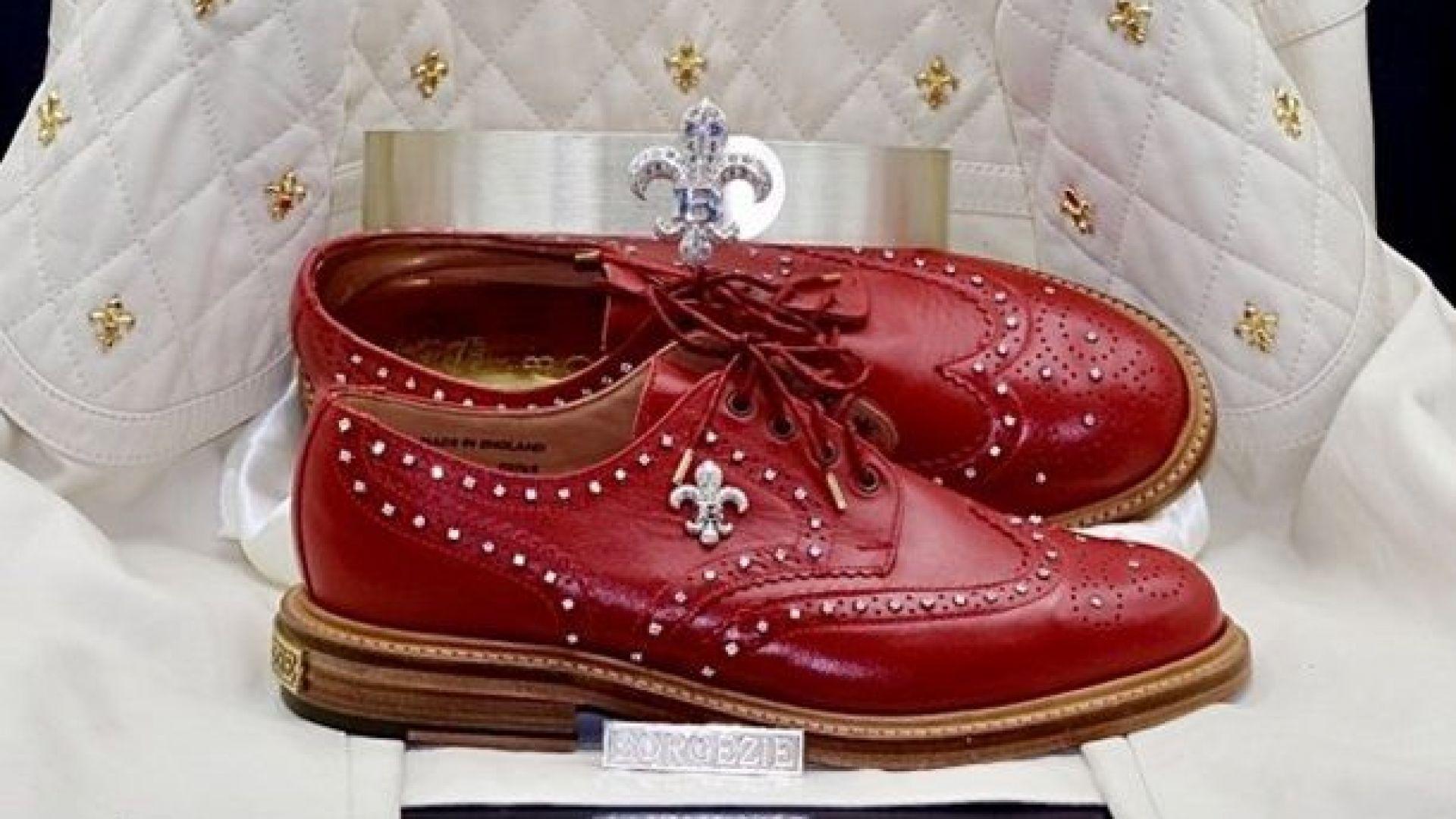 """Обувките на """"принца"""" с доживотна гаранция срещу 150 000 долара"""