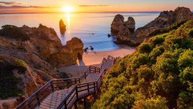 Плаж Камило: Най-голямото бижу на Португалия (снимки и видео)
