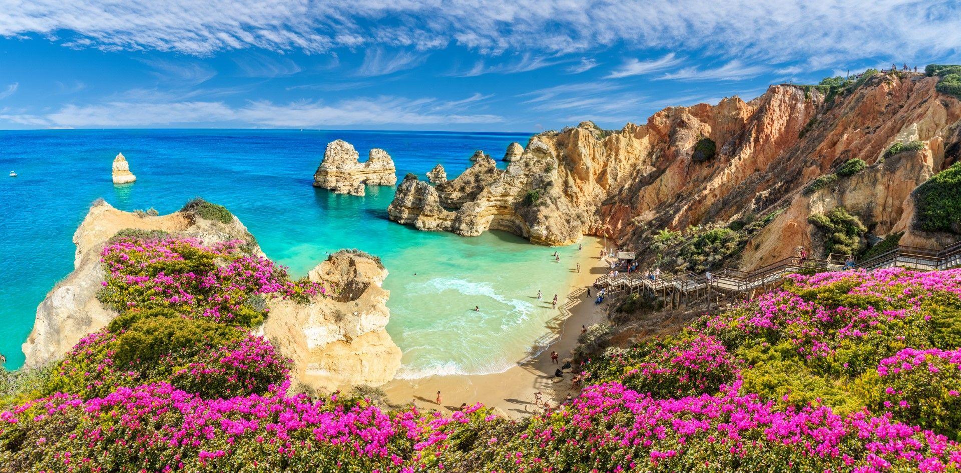 Плаж Камило, Алгарве, Португалия
