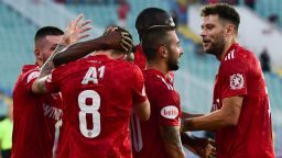 Офанзивен ЦСКА взе аванс от два гола срещу хърватския Осиек