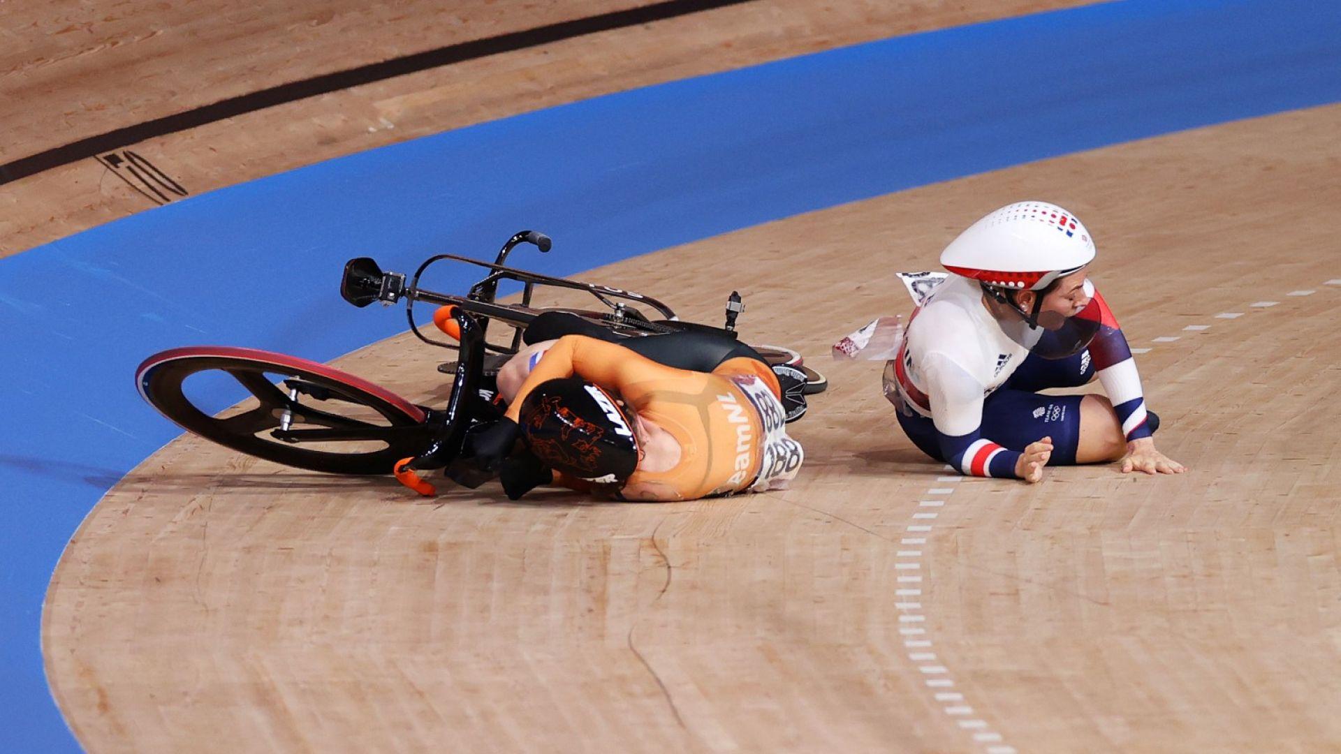 Нидерландка е с множество счупвания след тежък инцидент на Олимпиадата