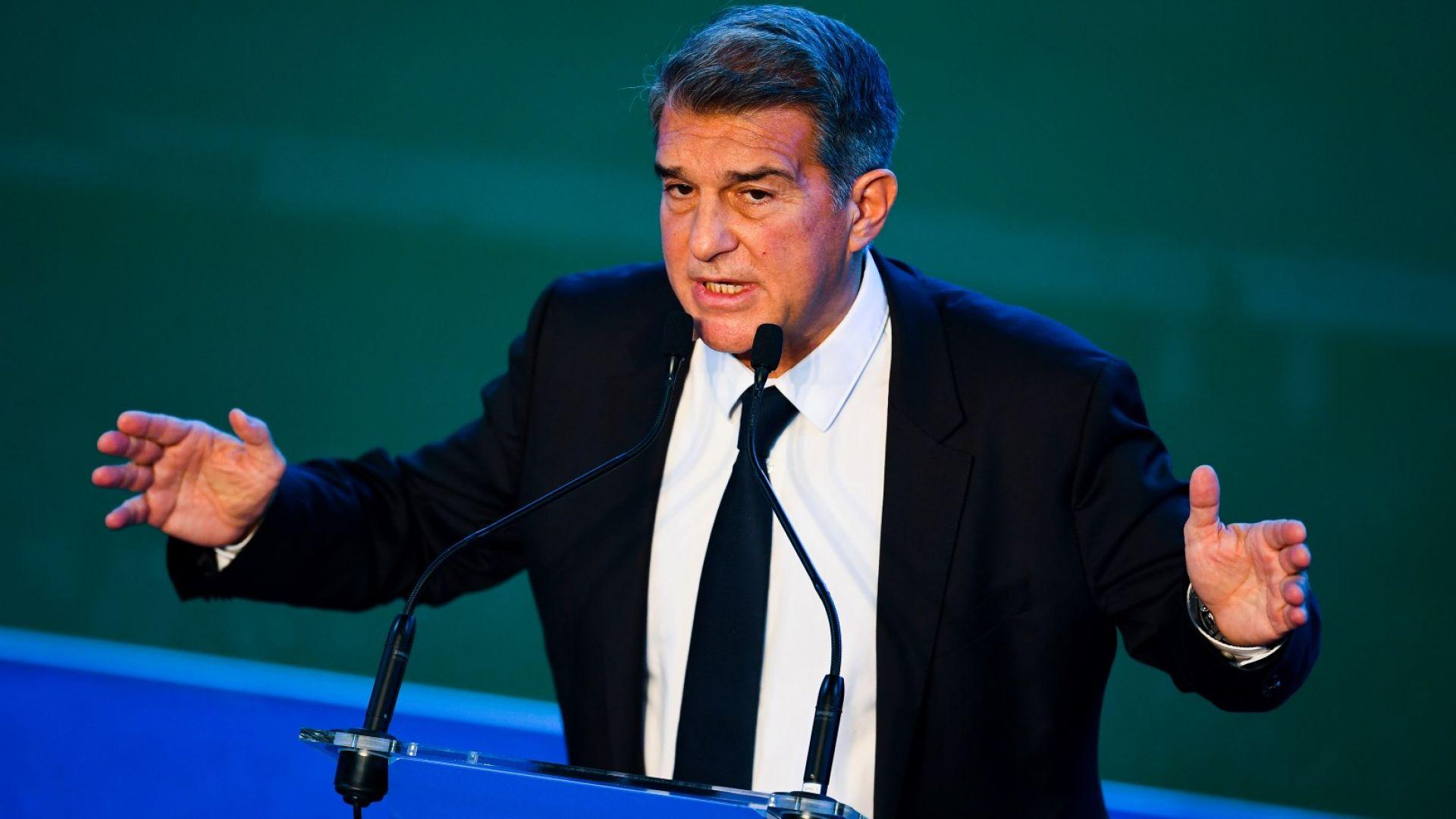 Президентът на Барса направи стряскащи разкрития за състоянието на клуба