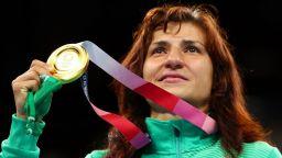 Шефът на световния футбол награди златната българка