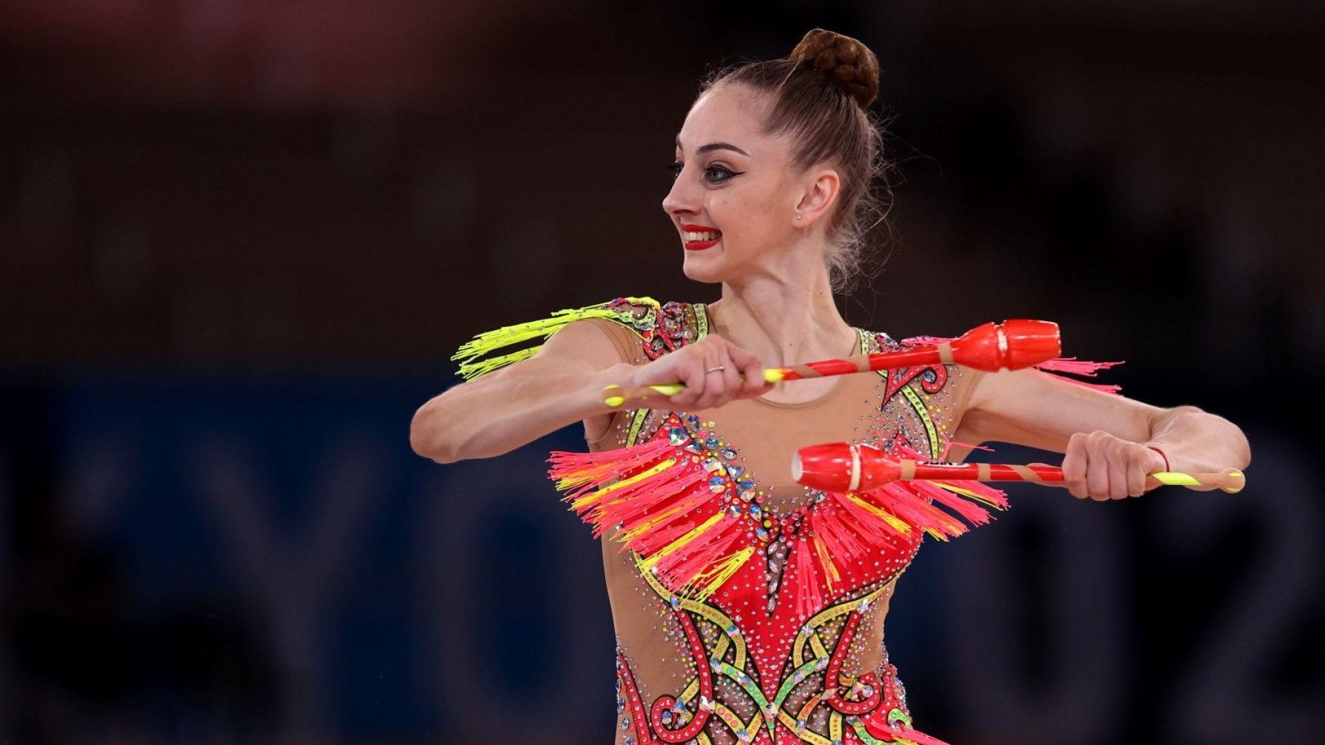 Сълзи за Боряна Калейн след изящно представяне на нейната първа Олимпиада
