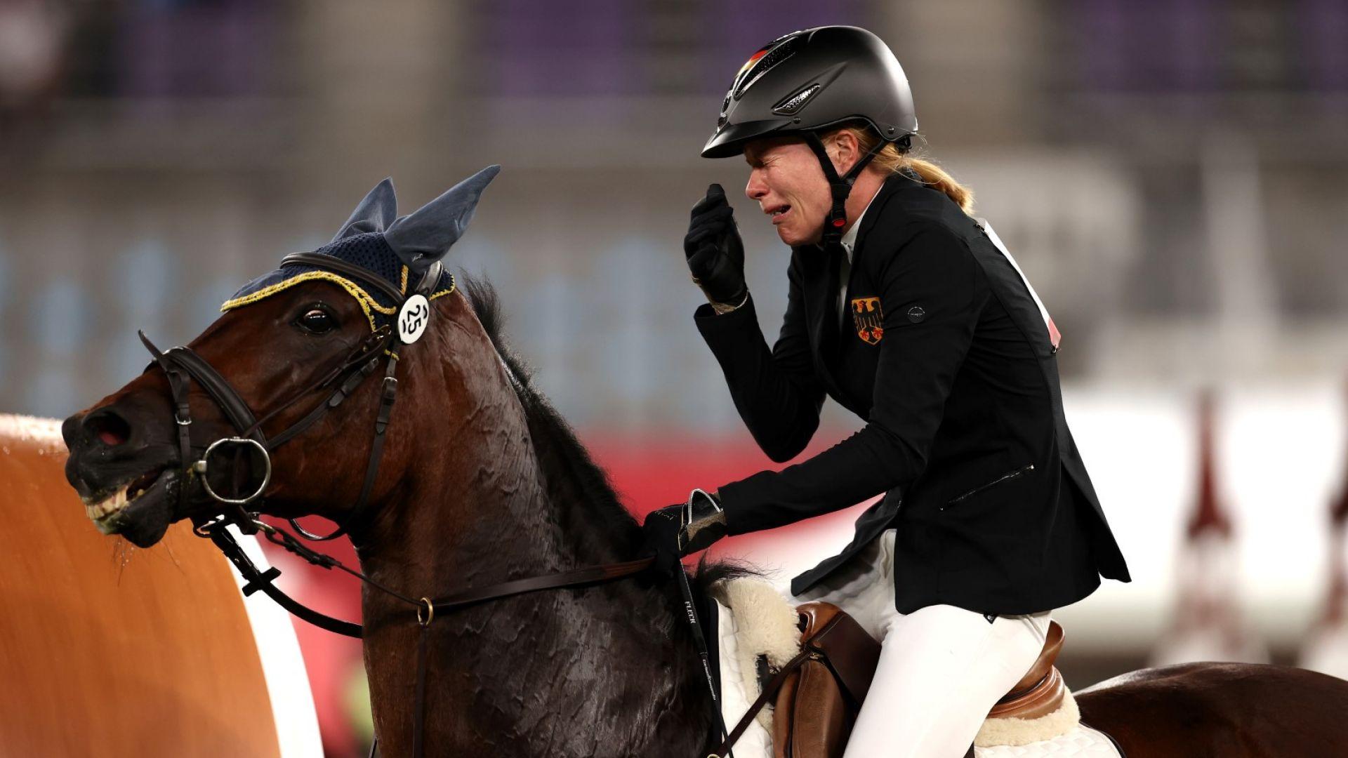 Нов олимпийски скандал с германски треньор, опитал да нокаутира кон