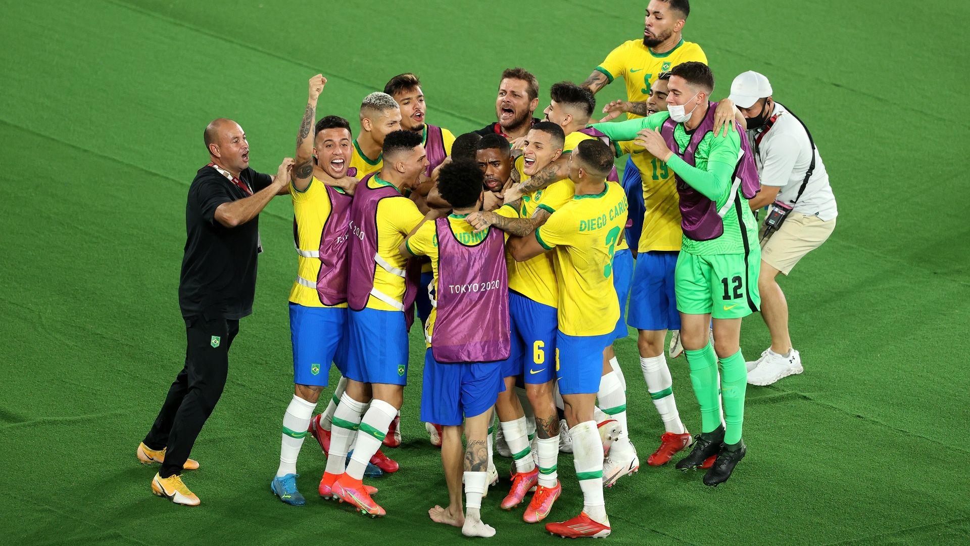 Бразилия защити олимпийския футболен връх