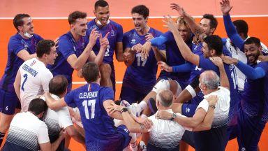 Франция разплака Русия и завоюва историческо първо злато във волейбола