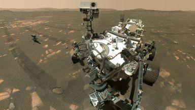"""Марсоходът """"Пърсивиърънс"""" взе втора скална проба от Червената планета (видео)"""