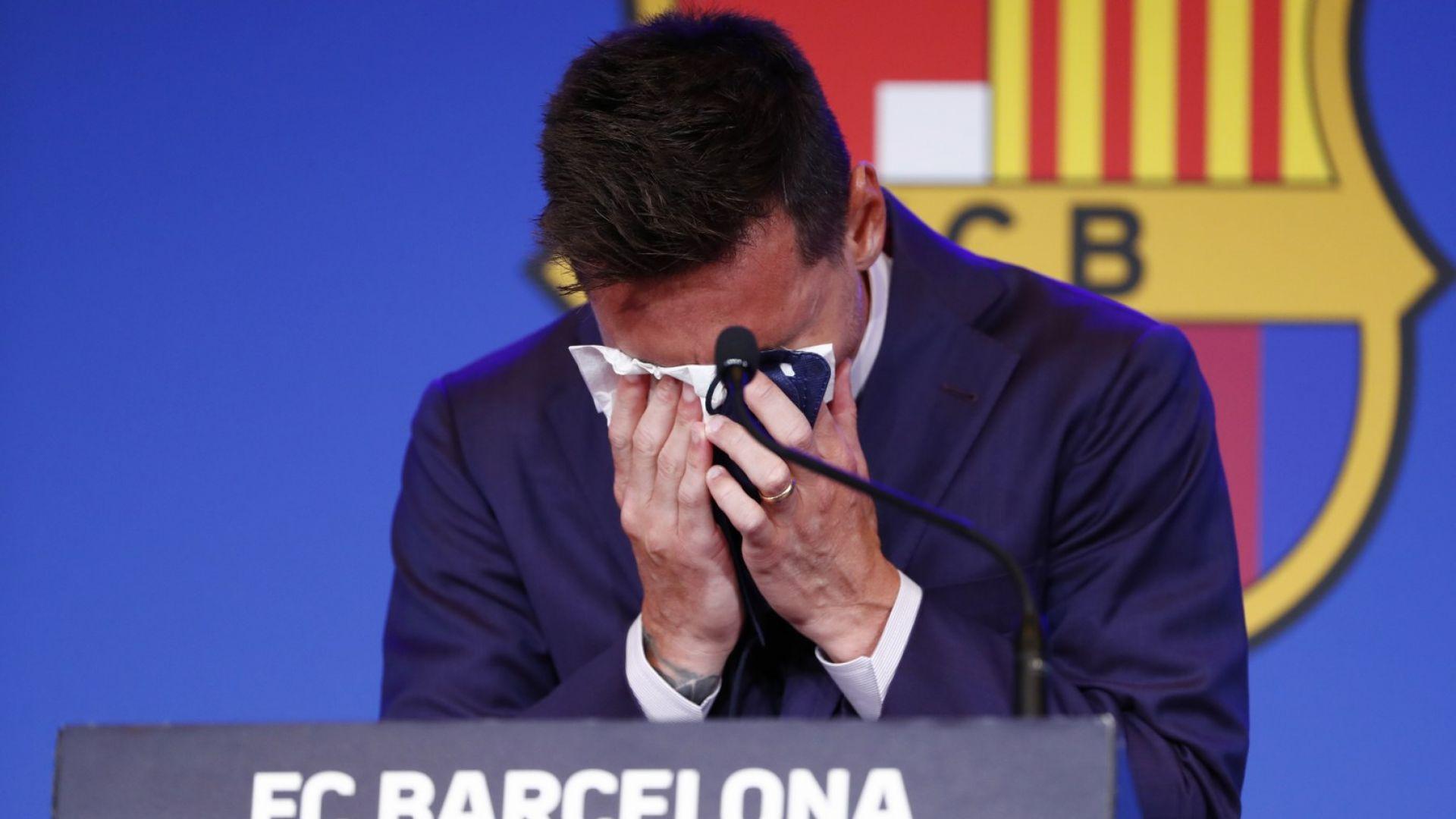 Шефът на Ла Лига намекна: Може би Меси не си тръгна само заради финансовия казус