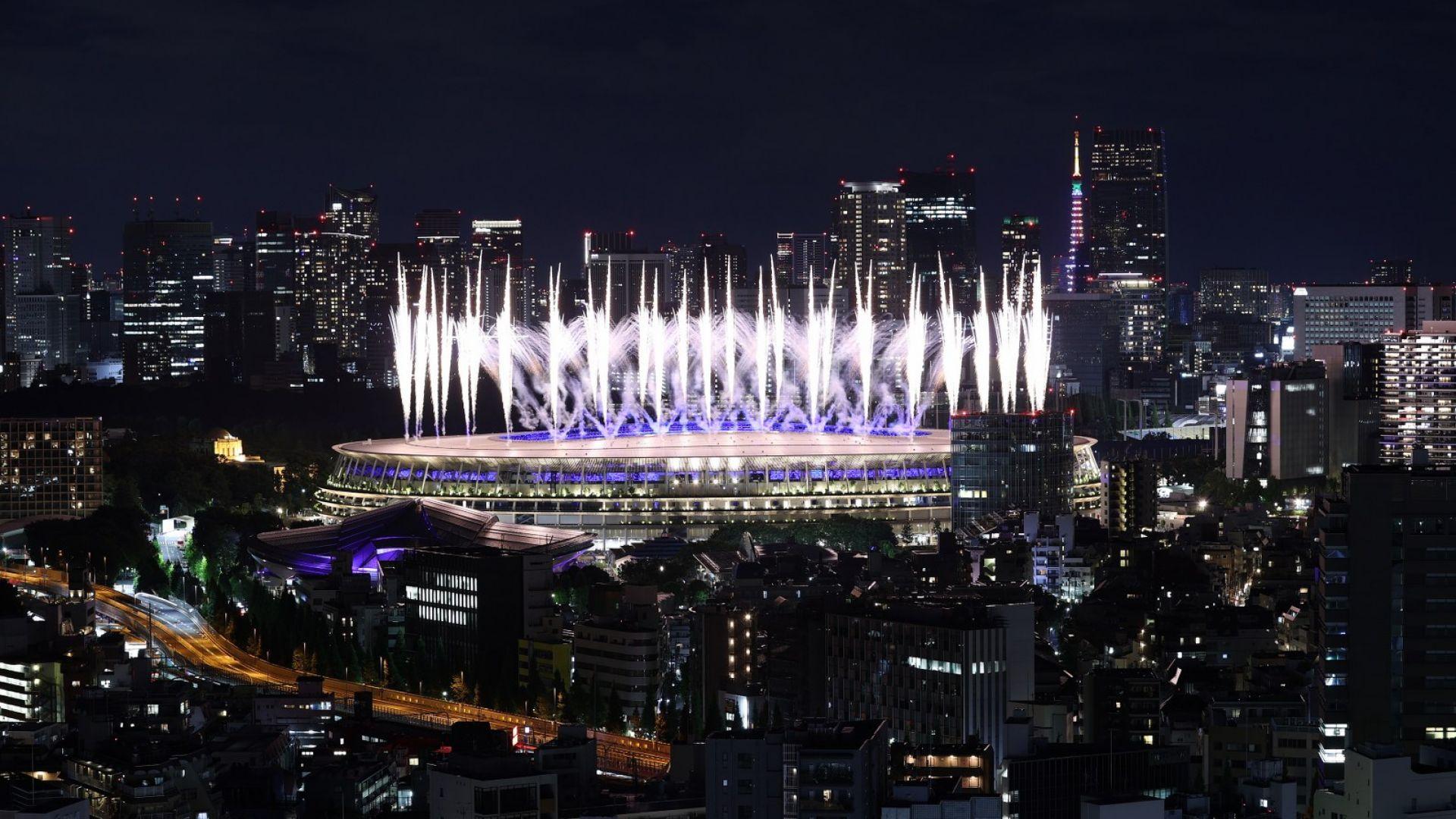 4599 спортисти затвориха заедно Олимпийските игри (видео)