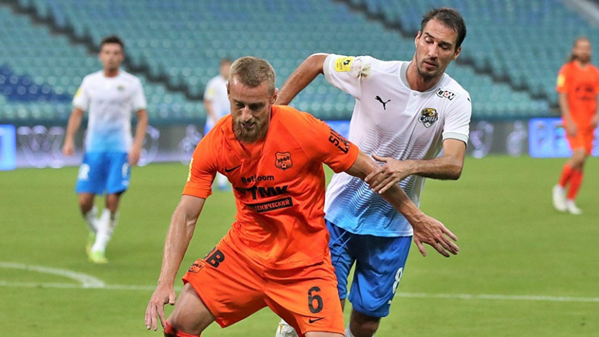 Ивелин Попов вкара първия си гол след тежката контузия
