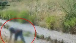 Скрити камери заснеха подпалвач на пожар в Южна Италия