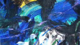 BLUE на Станислава Стоянова - портрет на морето