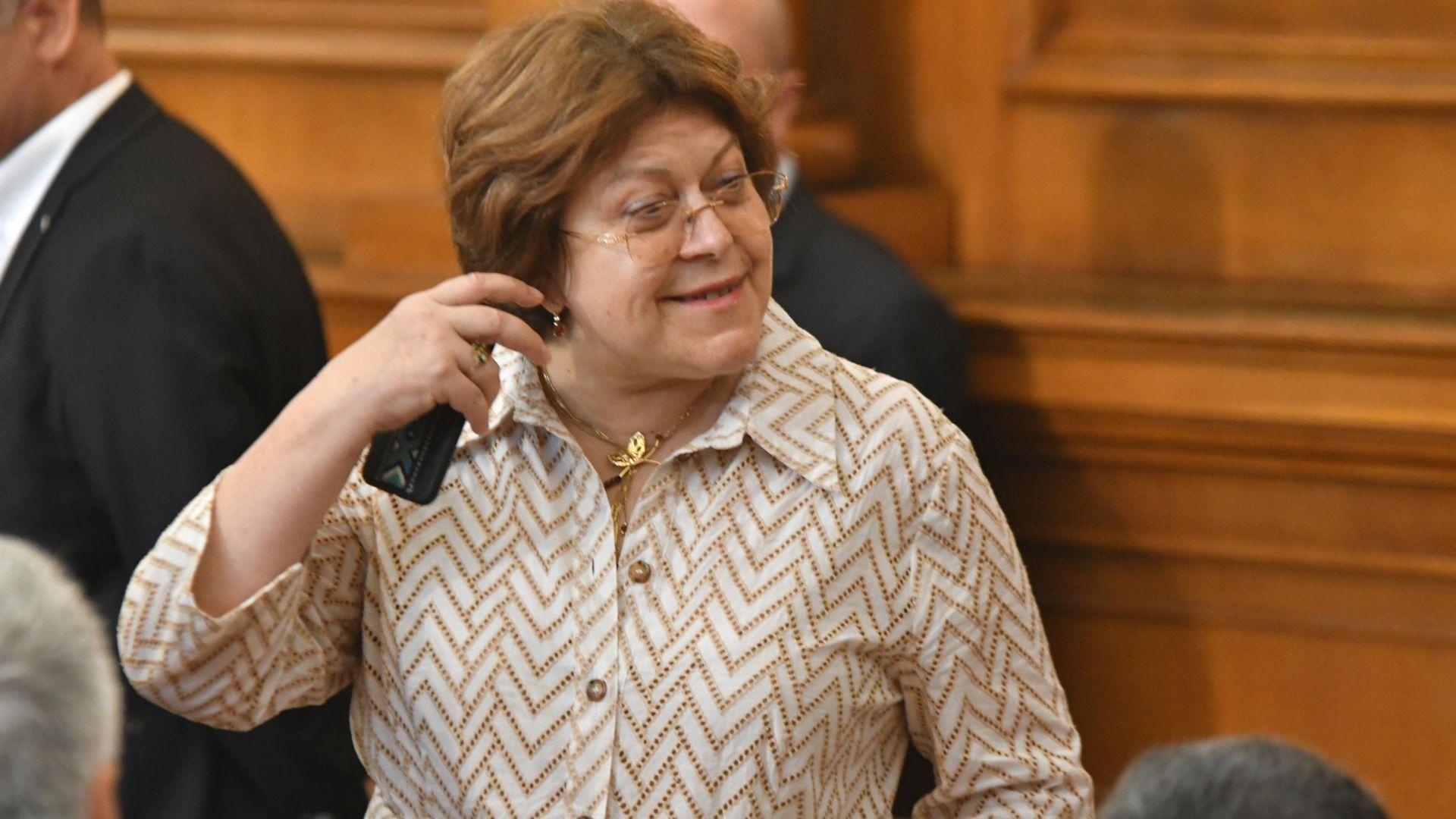 Дончева за Тошко Йорданов: Ако някой смята, че в политиката тези постове се купуват, това не съм аз