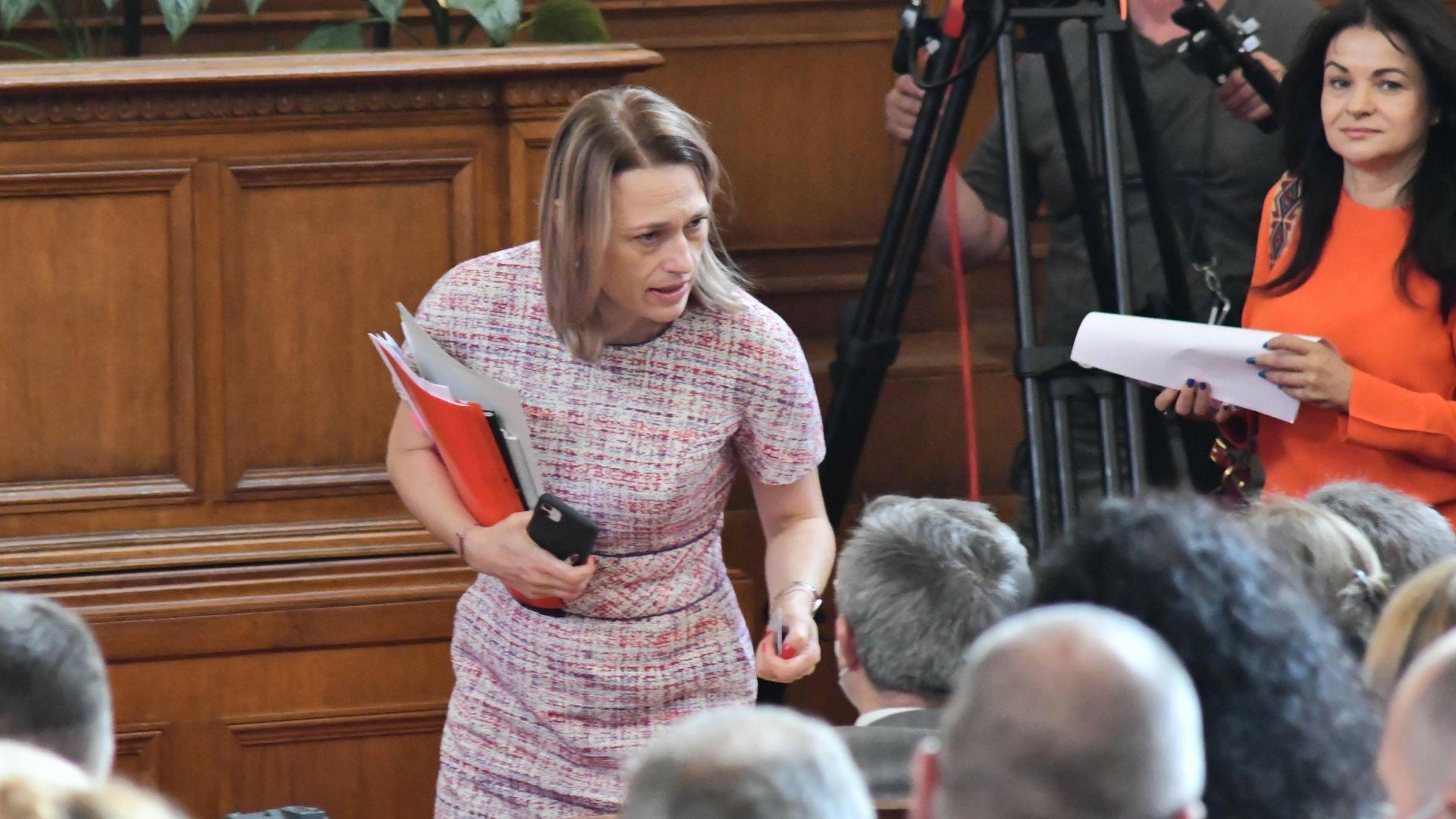 Без извънредно заседание на НС в понеделник заради предложени от ДБ промени в правилника