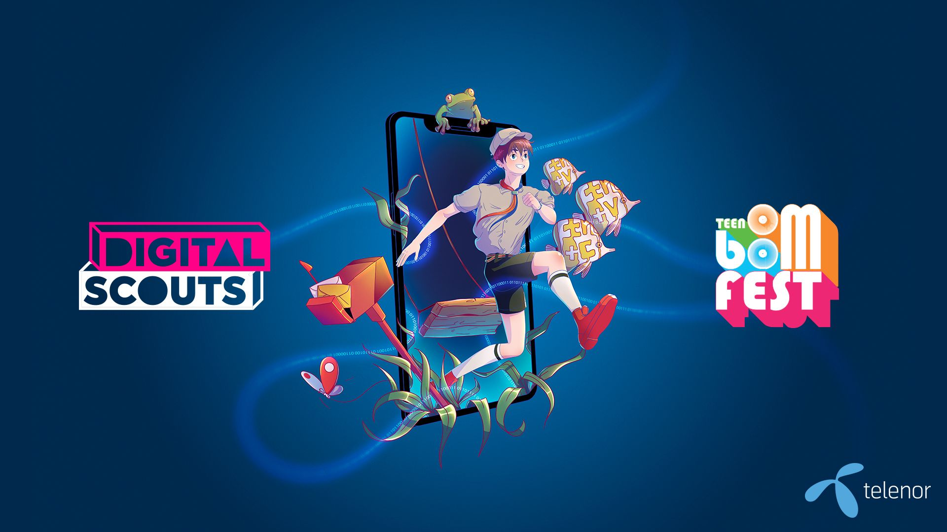 Digital Scouts на Теленор става част от TEEN BOOM FEST в Бургас