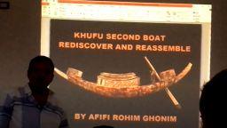 Втората лодка на Хеопс ще бъде реставрирана пред посетителите на Големия египетски музей (видео)