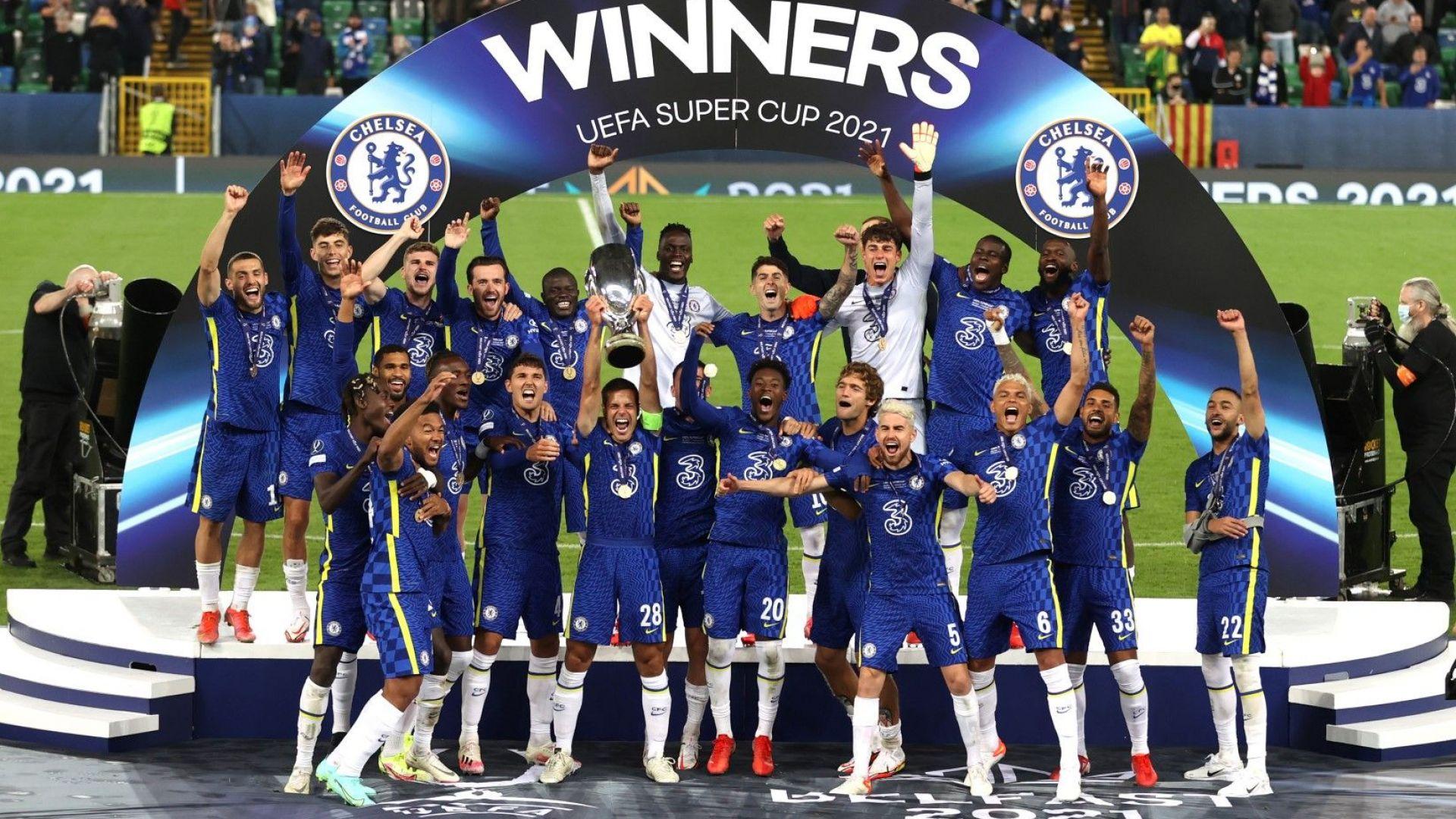 Шампионът на Европа Челси взе и Суперкупата след драма с дузпи